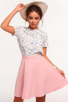 Пышная юбка с высокой талией Mollis