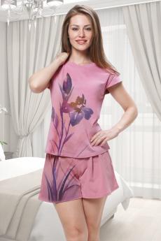 Розовый домашний костюм Brosko